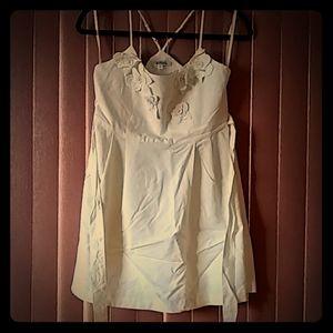 Cute off white dress